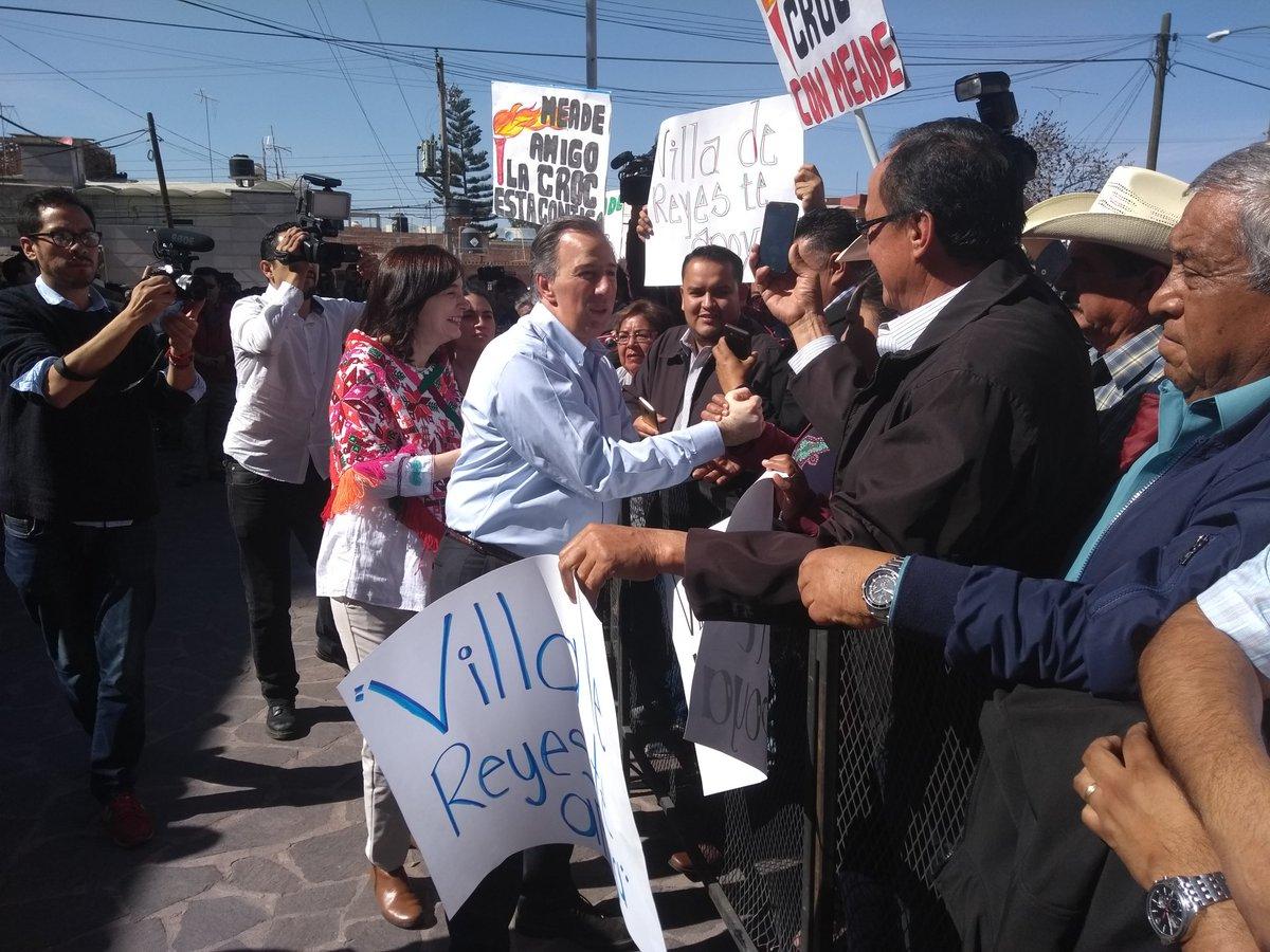 """Meade solicita a militantes reconocer errores y decir """"no"""" a la corrupción"""