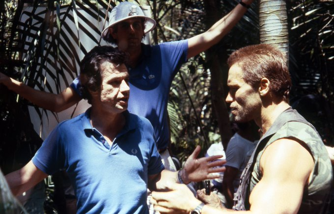 Happy Birthday to John McTiernan, the director who successfully got Arnold onto the choppa.