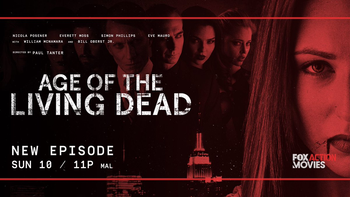 Age of The Living Dead on Twitter: