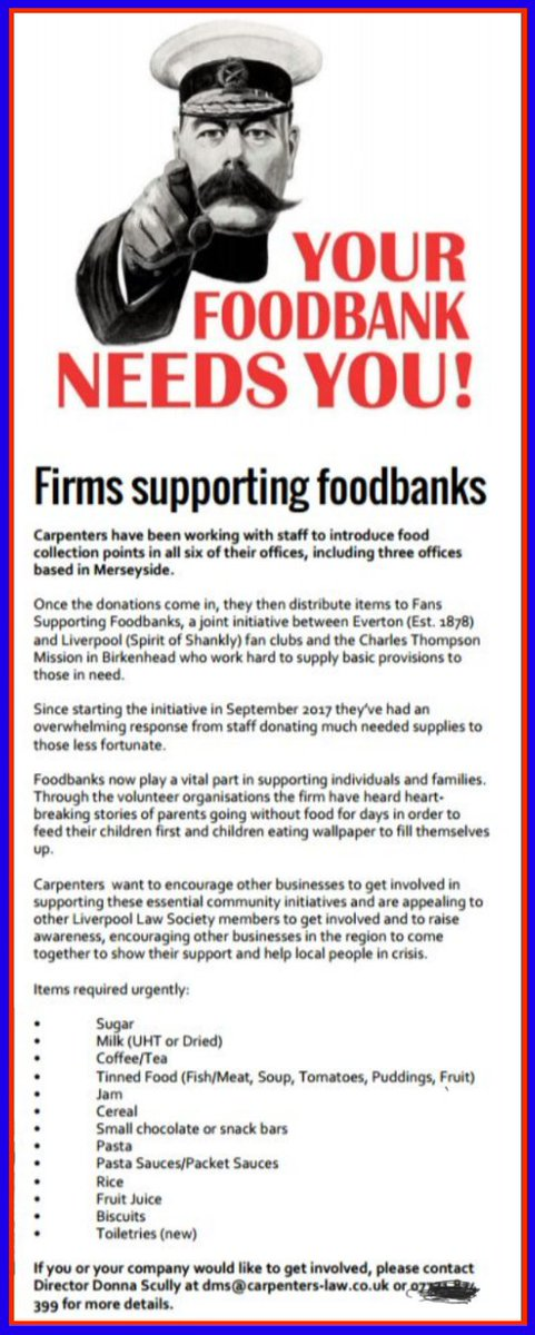Fans Supporting Foodbanks On Twitter Whatever Next A