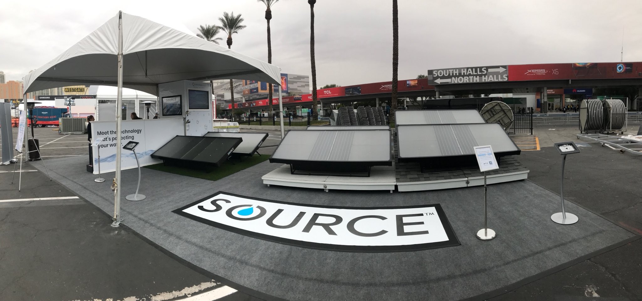 Make sure to check out @zeromasswater #SourceHydroPanels this week at @CES  #Water #Solutions #CES2018 #Source https://t.co/XO2HYBooX9