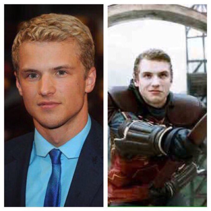 January 8: Happy Birthday, Freddie Stroma ( He played Cormac McLaggen in the films.