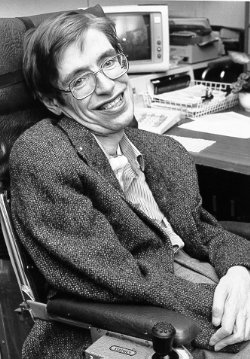Happy 76th birthday to the world's most famous living physicist, Stephen Hawking!
