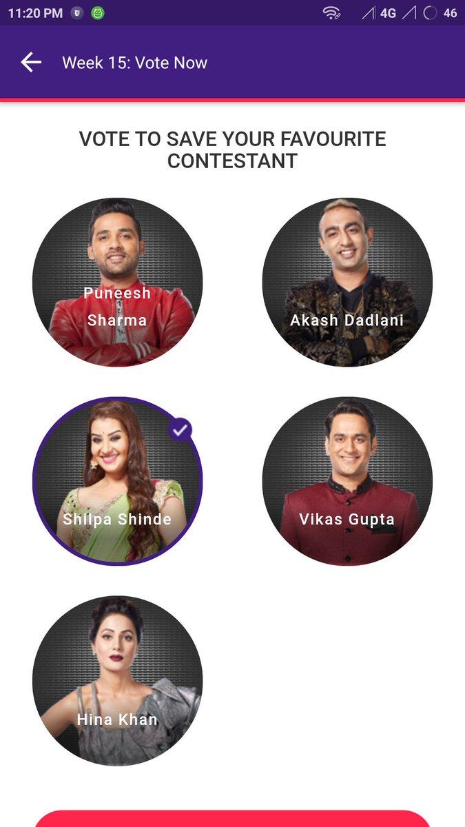 I casting my vote for BB11 #Queenshilpa Please vote for #shilpa 😘 #ji #WeLoveShilpaShinde #westandforshilpa 🏆 shilpa shinde 🏆 @shindeshilpas @Virendrasinh_ @asma8973 @shindeashutosh @RealVinduSingh