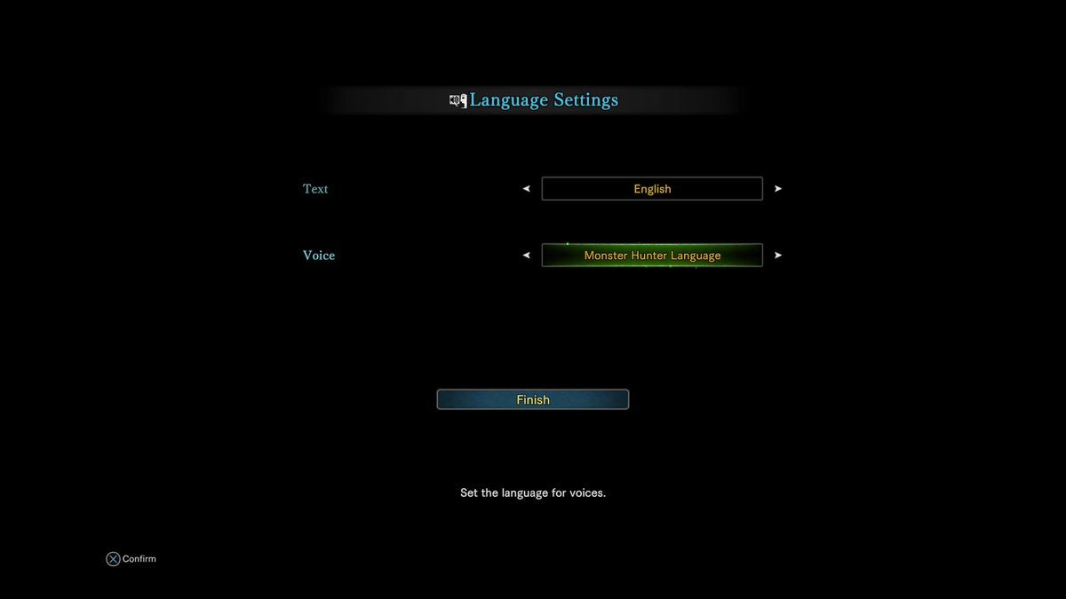 Or maybe make up your own language to dub your game in, I dunno.