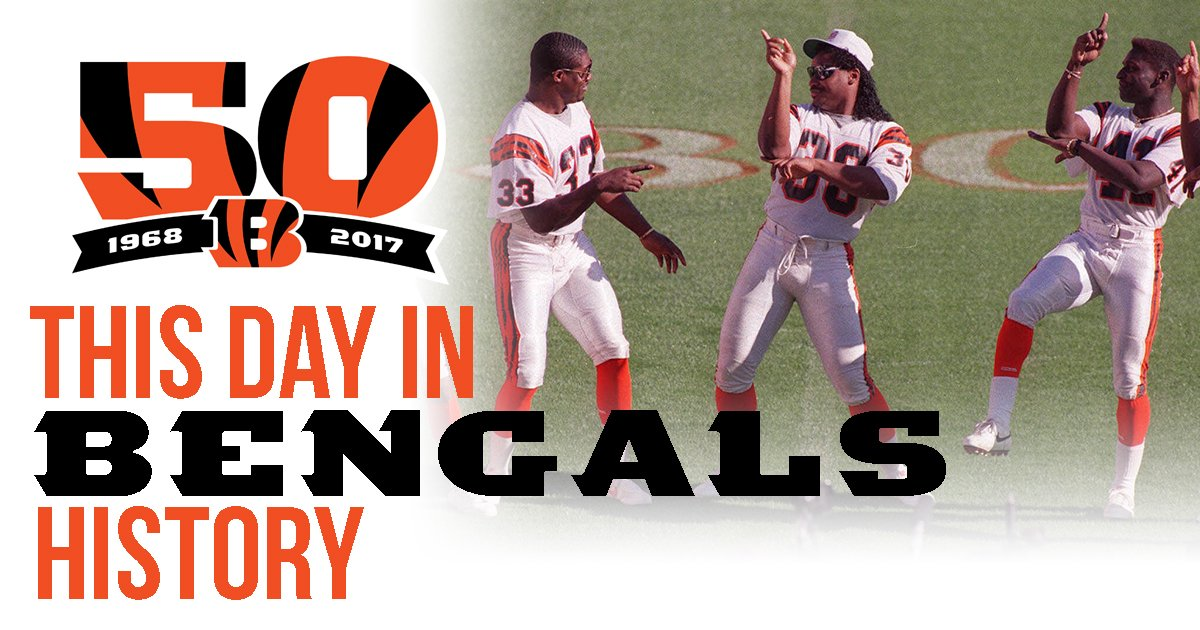 This Day in #Bengals History:  1/8/89 - Ickey, Bengals dance into Super Bowl  ��: https://t.co/tuk9VN235l  #Bengals50 https://t.co/N6eSgIGYn4