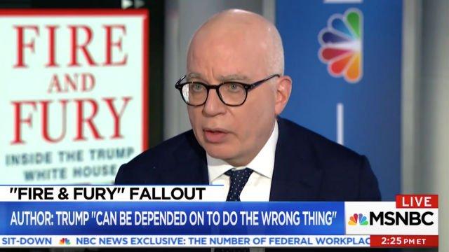 Michael Wolff: 'The Biggest Leaker Was Donald Trump' https://t.co/dOsrH7q28C (VIDEO) https://t.co/cpePxQxJqz