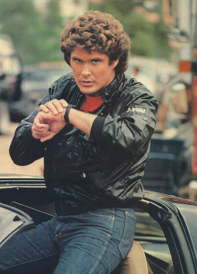 30 years ago he spoke into his watch *and* owned a driverless car. He was a true technology pioneer. #CES2018