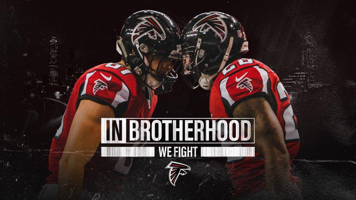 "Atlanta Falcons 2018 Wallpaper Hd 64 Images: Atlanta Falcons On Twitter: ""Us Vs Everyone #InBrotherhood…"