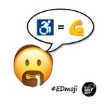 Check out our #EDmoji in honor of Ed Roberts Day on January 23rd! ♿=💪#EdsLegacy