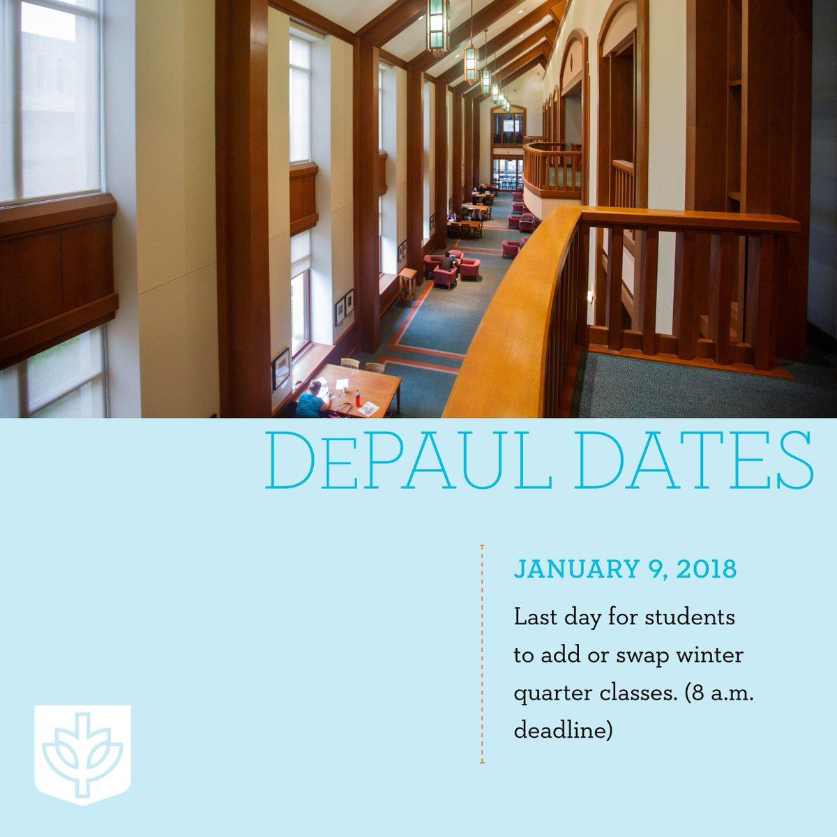 DePaul University on Twitter: