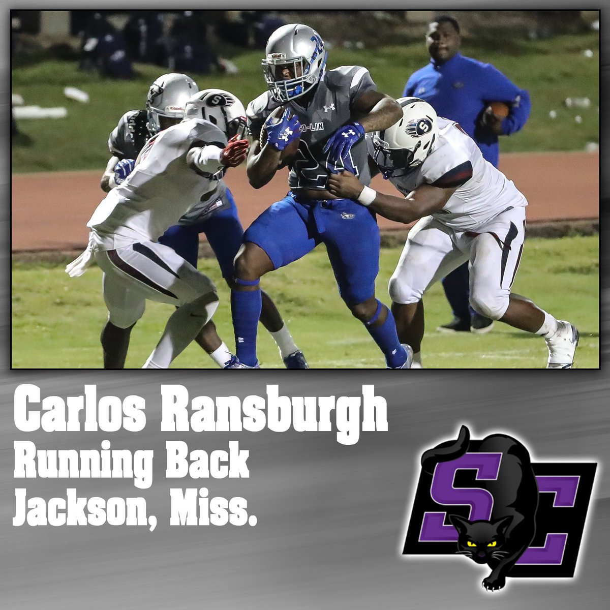 SIGNED | Congrats to Carlos Ransburgh for signing with @buildersports!