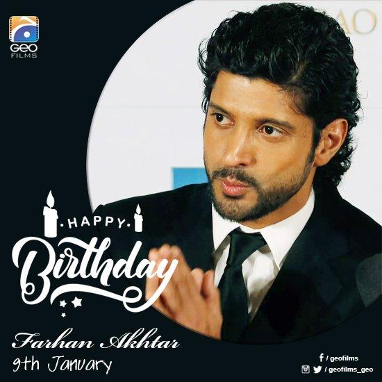 A very happy birthday to Farhan Akhtar