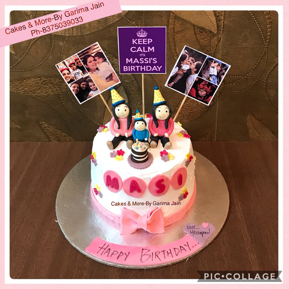Garima Jain On Twitter CreamCake TwinsBirthdayCake TwinSistersCake MassiNephewCake Surprise Birthday Cake Ordered By Sister Fr Her Twins Sisters Lil