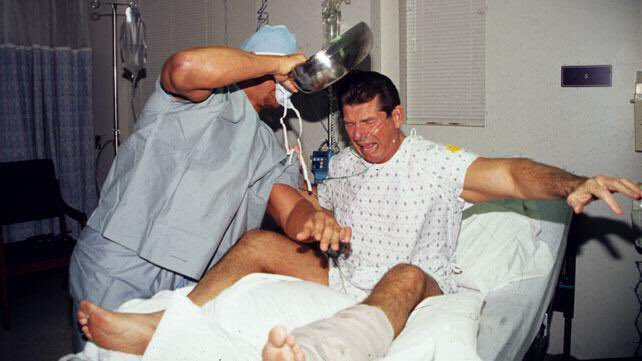 That bedpan that @steveaustinBSR used on @VinceMcMahon needs to be in the Hall of Fame #raw #RAW25 https://t.co/xGKCRS30Dr
