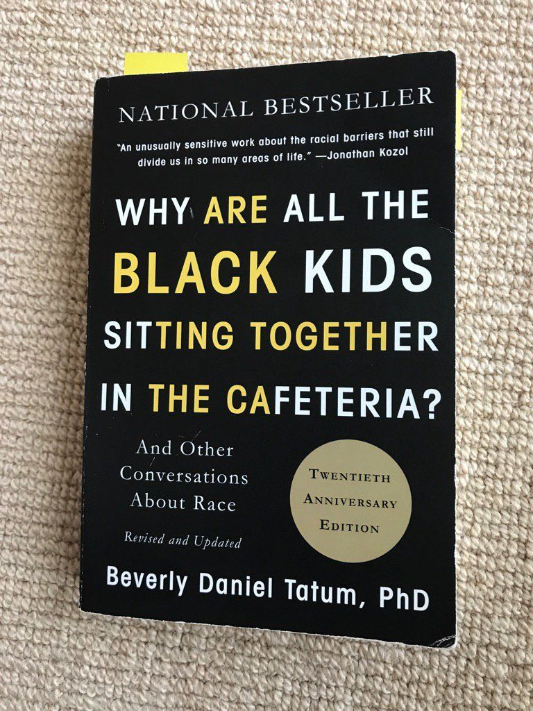 beverly tatum Dr beverly tatum why are all the black kids sitting together in the cafeteria  sunday, december 3, 2017, 6:00pm rainier arts center (columbia city).