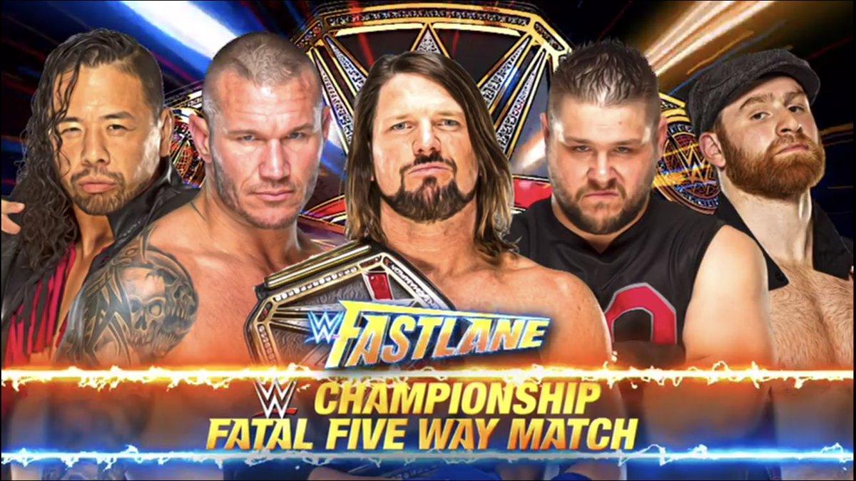 WWE Fastlane 2018 Thread. (3/11/18). | THE CRAPHOLE: the ...