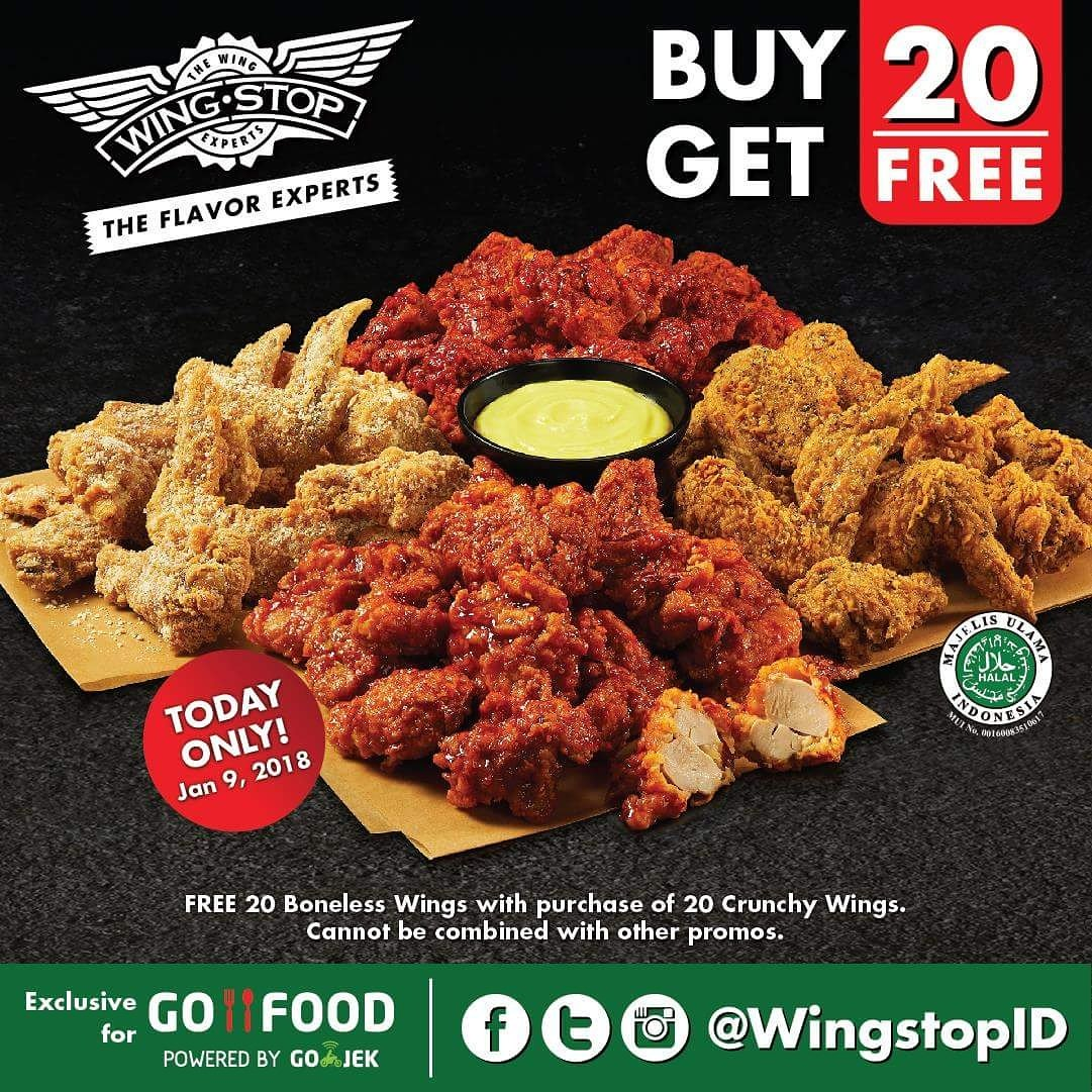 Wingstop Indonesia On Twitter Flavor Up 2018 With Some Wings Party