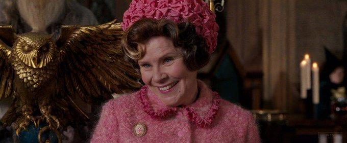 Happy Birthday to Imelda Staunton who turns 62 today! Name the movie of this shot. 5 min to answer!