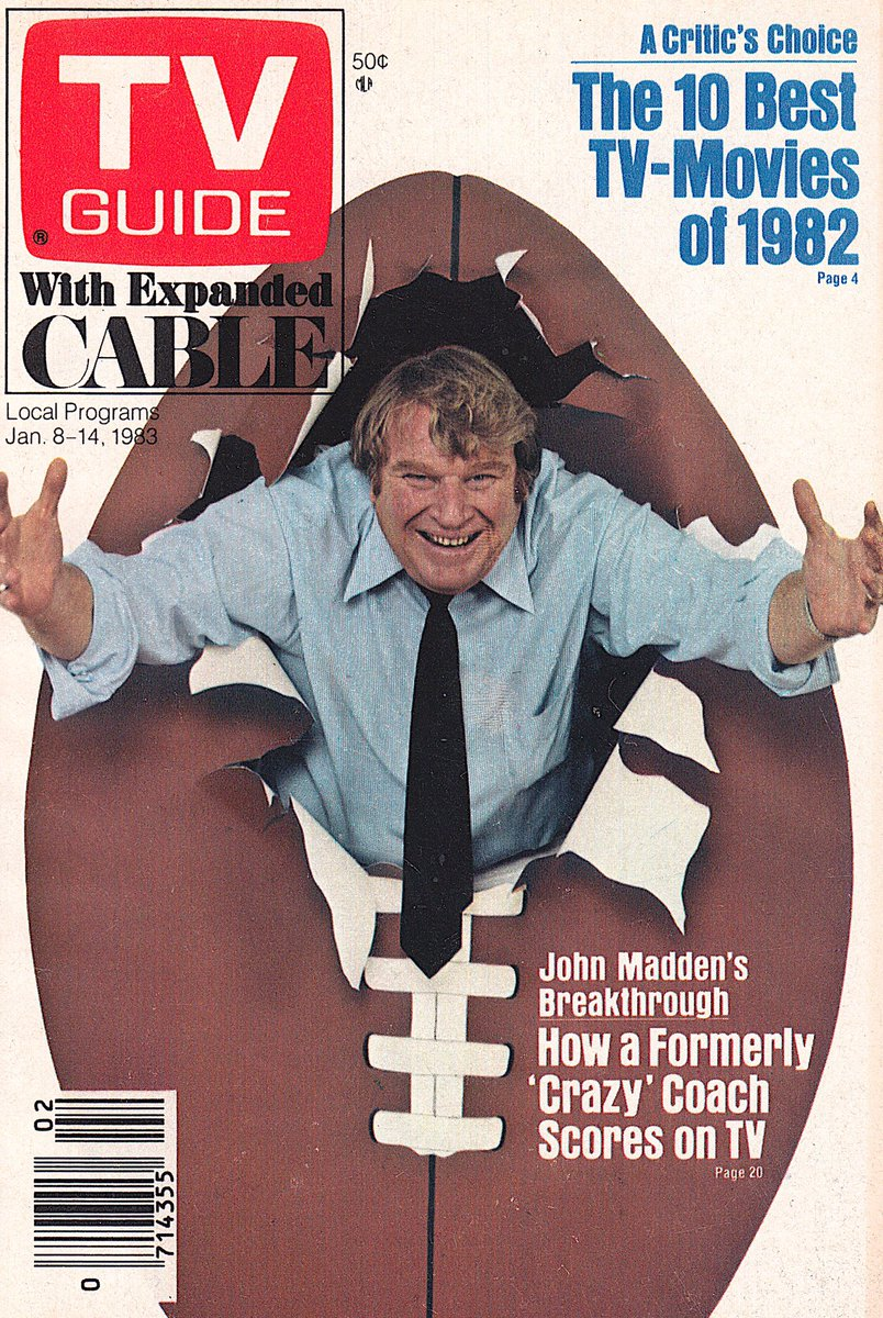 Retronewsnow On Twitter Tv Guide Cover 35 Years Ago This Week