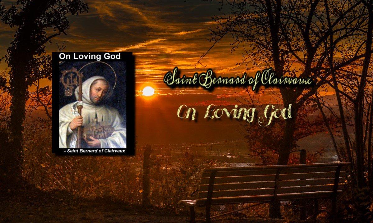 bernard of clairvaux on loving god
