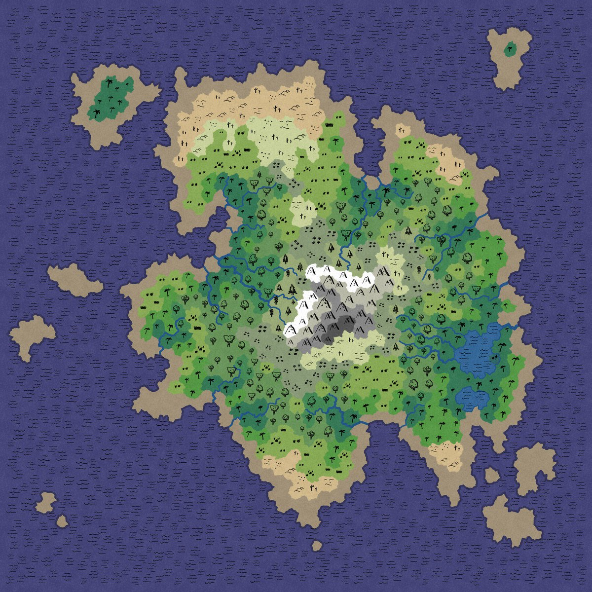 Amit Patel On Twitter This Year Im Trying To Iterate More Heres - Color map generator