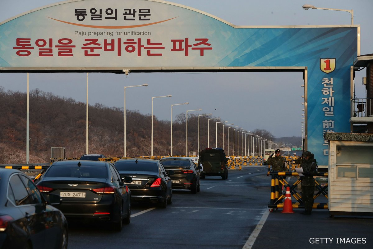 South and North Korea have begun their first formal talks in more than two years at the border village of Panmunjom, @YonhapNews reports.