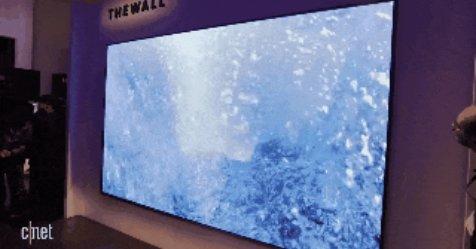 Samsung MicroLED: Samsung MicroLED makes massive, 146-inch modular