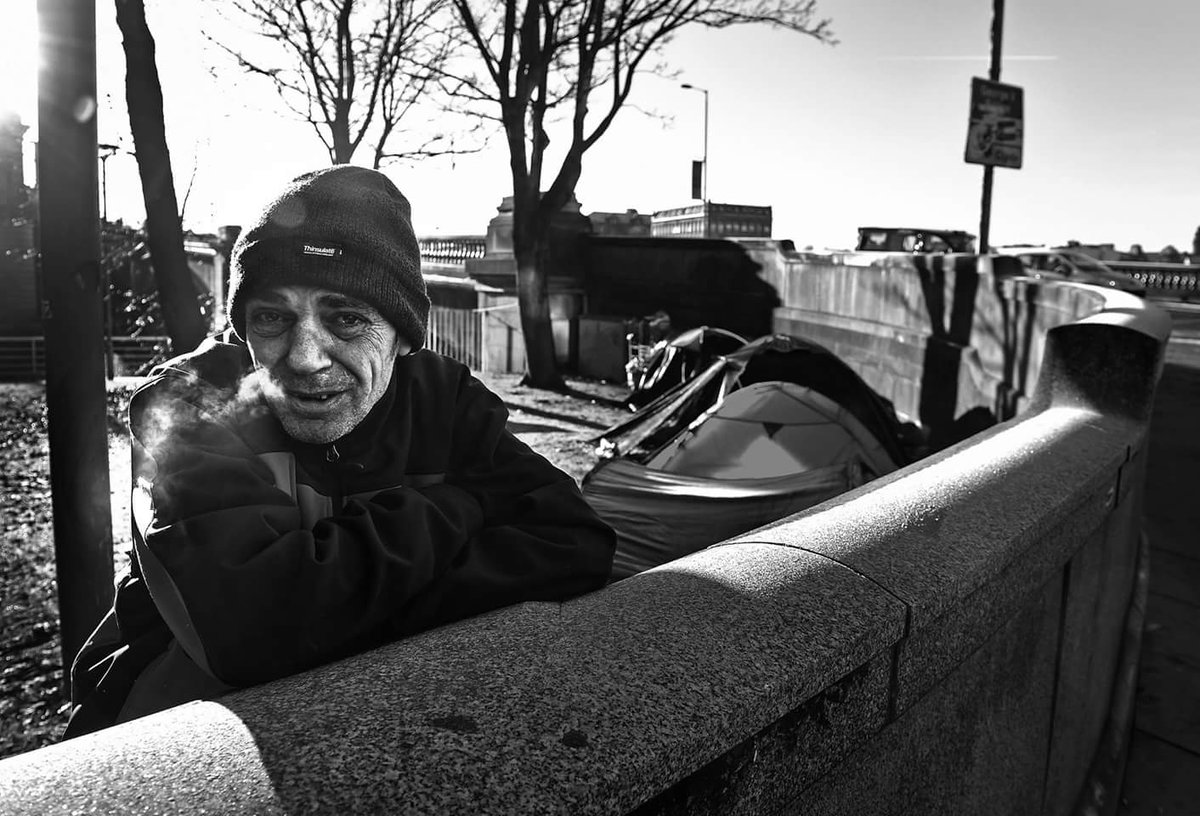 Recently for several nights he has endured sub zero temperatures in his tent on the streets of Glasgow. Homelessness - End this disgrace.pic.twitter.com/ ... & Tony Nicoletti on Twitter: