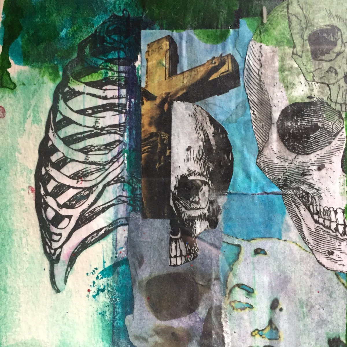 Cyghost On Twitter Art Artwork Collage Collageart Mixedmedia