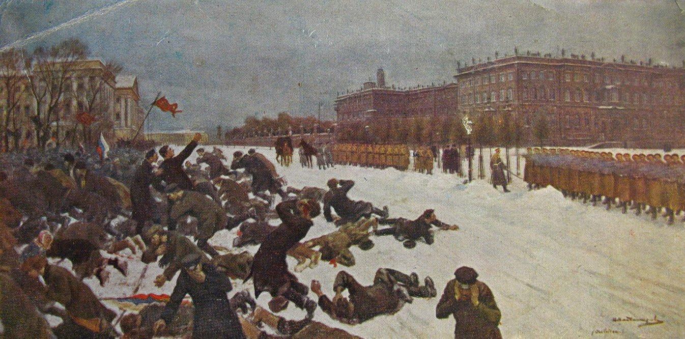 Массовые беспорядки 9 января 1905 года глазами современника
