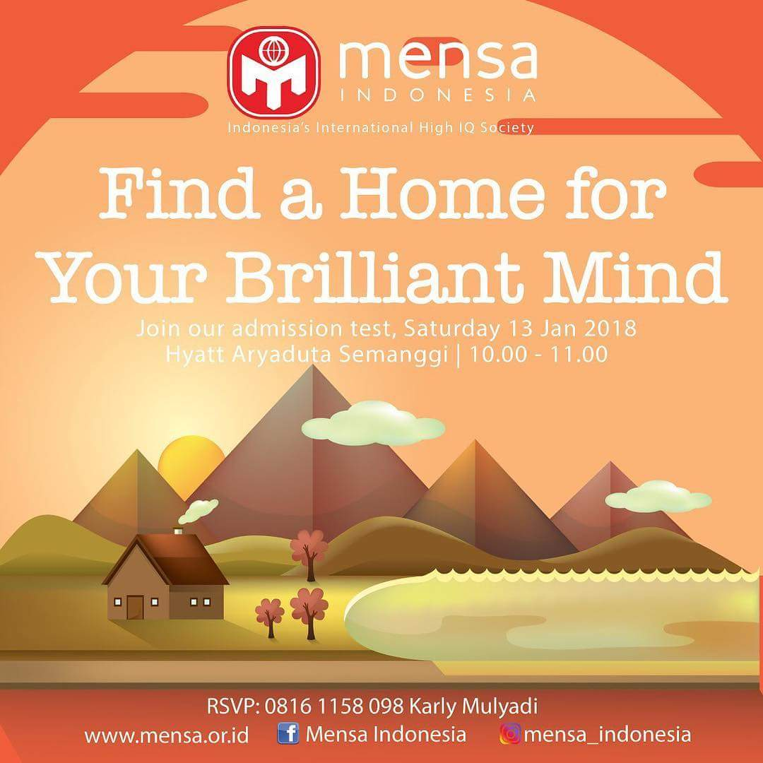 MENSA Indonesia on Twitter:
