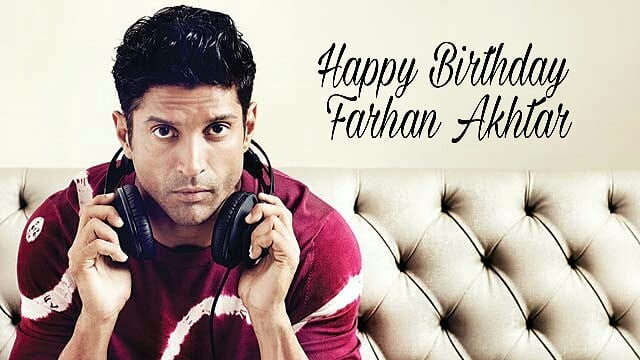 Here\s wishing the versatile actor,director, singer & writer, Farhan Akhtar a very Happy Birthday!