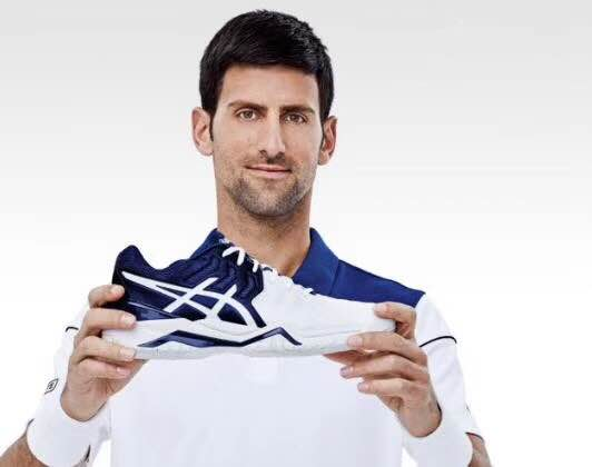 asics shoes novak djokovic girlfriend anateur 650496