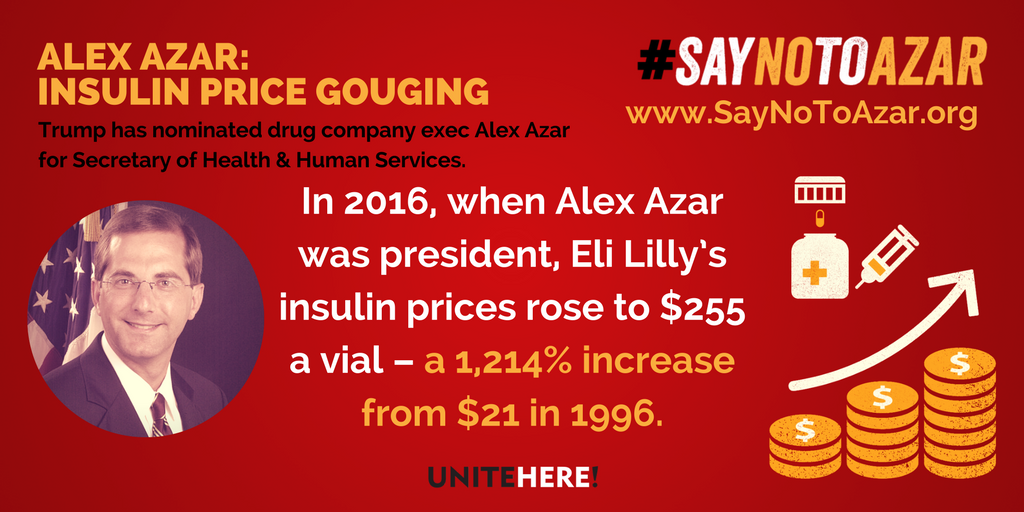 Image result for Alex Azar & Lilly