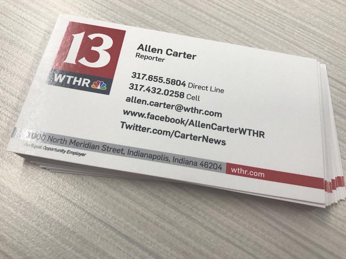 Allen Carter on Twitter: \