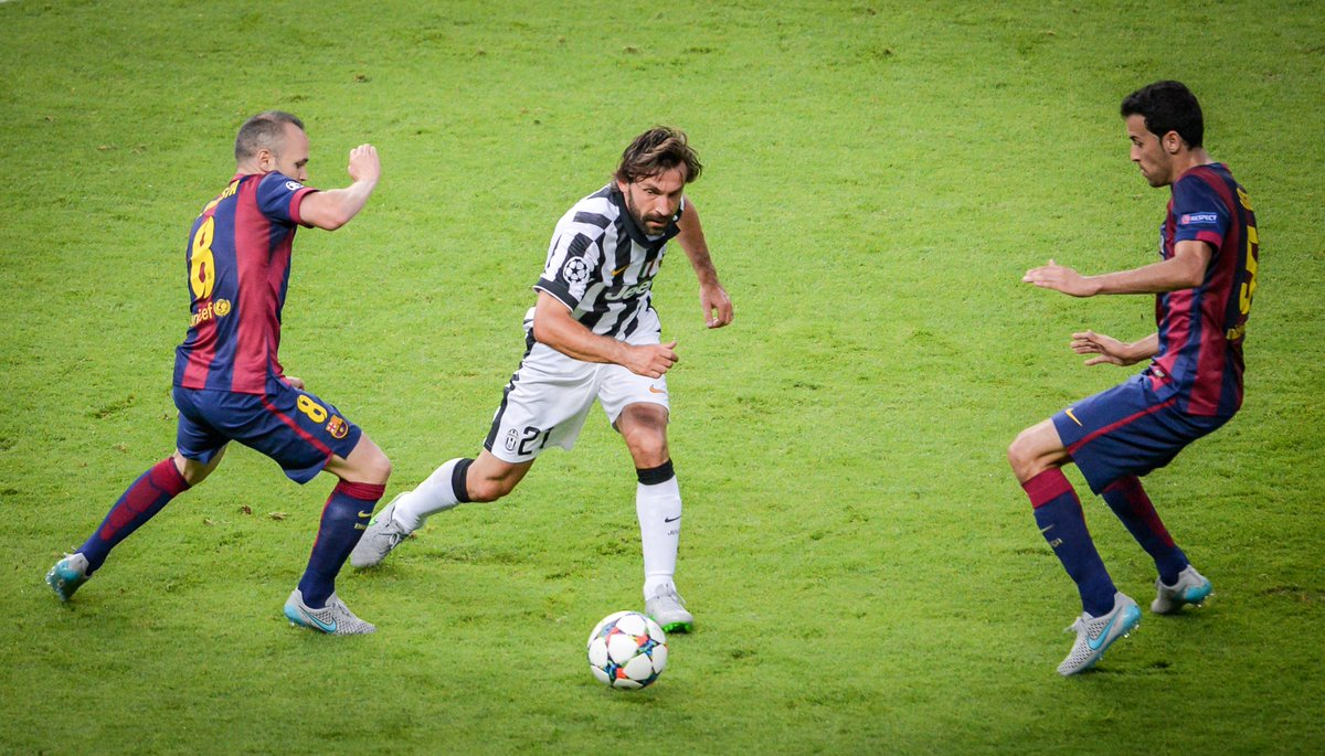 Andrea Pirlo: 'Football is played with the head. Your feet are just tools.'  #TuesdayThoughts #UCL