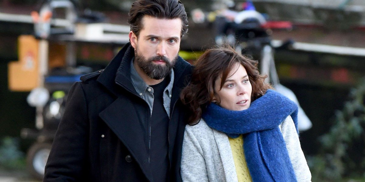 Emmett J Scanlan and Anna Friel play a formerly married couple in first look at ITV's drama 'Butterfly' about a gender variant child:  https://t.co/ySJ468d0dI @EmmettScanlan @annafriel