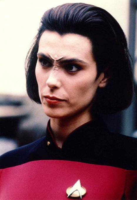 Happy Birthday to Michelle Forbes who turns 53 today!  Pictured here as Ens ...
