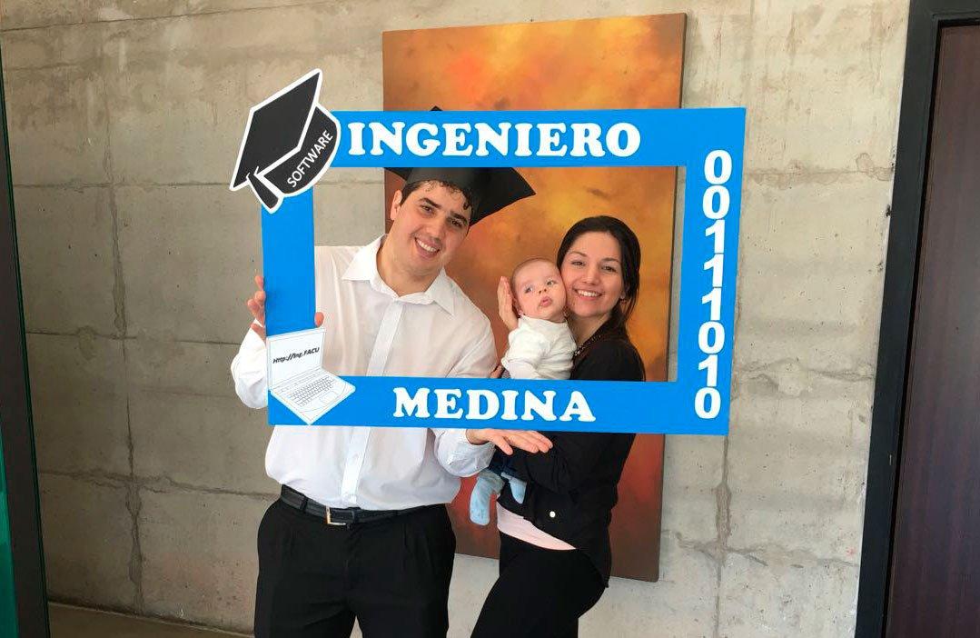 ¡Facundo Medina se recibió de Ingeniero...
