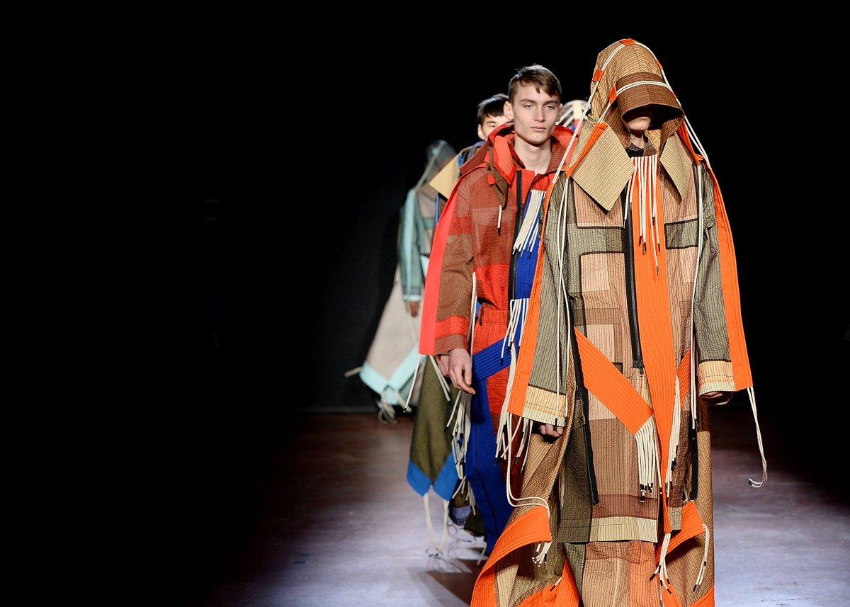 .@BFC's #FashionAwards 2017 British Menswear Designer of the Year Winner Craig Green's AW18 #LFWM show