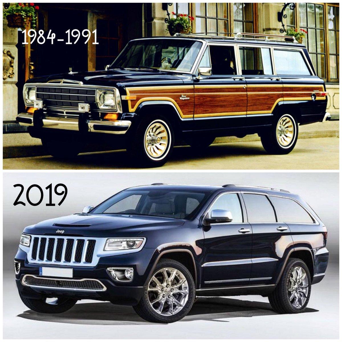 عالم السيارات On Twitter بعد توقيف اصداره لمدة ٢٧ سنة يبدو ان جيب جراند واجونير سوف يعود في ٢٠١٩ ما رأيكم هل سيكون محبوب كما كان في الماضي عالم السيارات Jeep Jeeplife Alamalsayarat