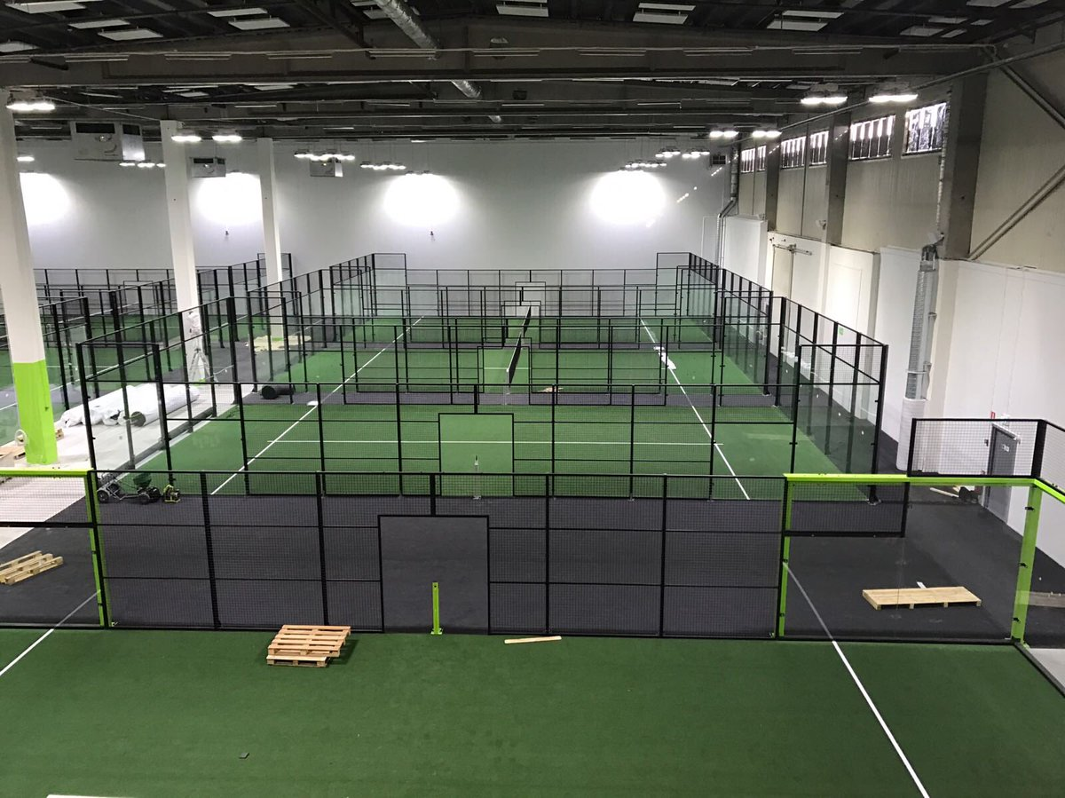 Almost ready for everybody to enjoy padel on another level and feel the quality @padelzenter #pz #padelzenter