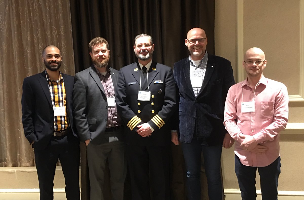 Humanist delegation, with the director of the Dutch Military Chaplaincy Service, at the #COMISS meeting in Washington DC.