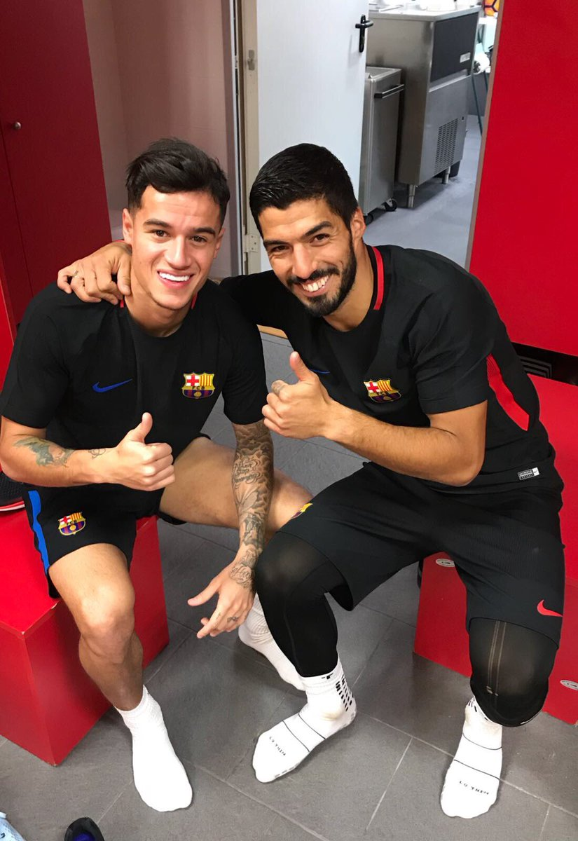 WELCOME my friend  @Phil_Coutinho 👏👏 how nice is to share team with you again 😃😃 Lots of success in this new stage, we will achieve them all together!