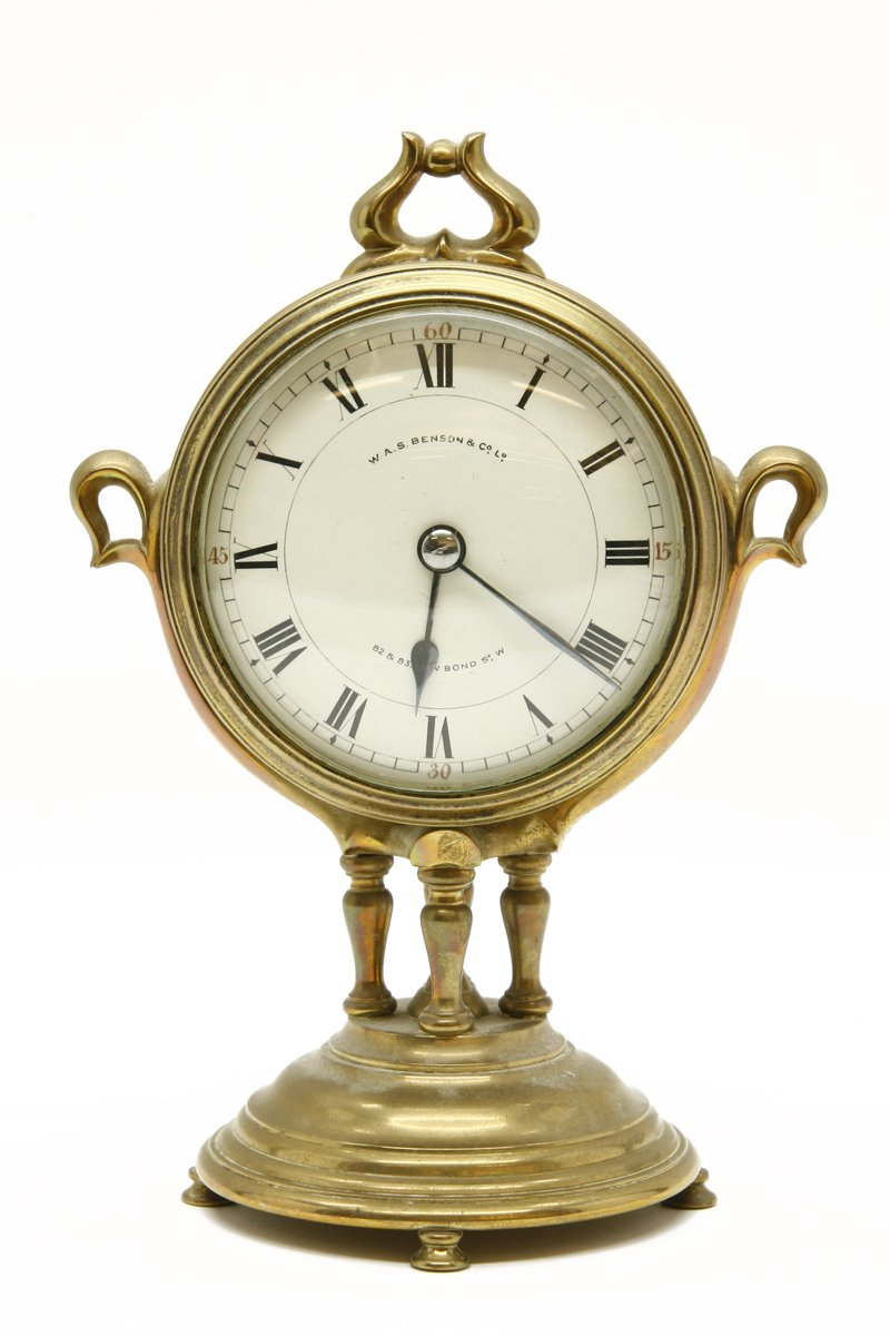 Mantel clocks brass