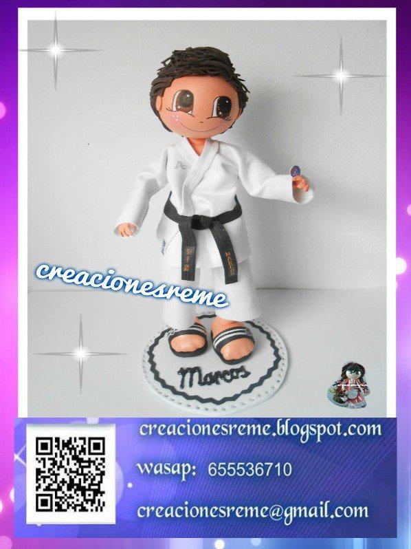 2601baa8788 Muñeco fofucho personalizado Marcos . El mejor premio que un karateca puede  tener su cinturón negro  fofuchas  fofuchaspesonalizadas  karate  karateca  ...