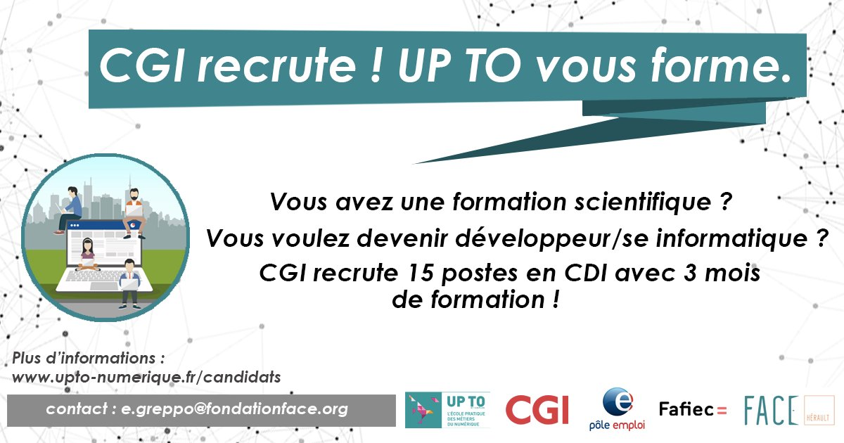Fondation Face On Twitter Avis De Recrutements De 15 Cdi Avec 3