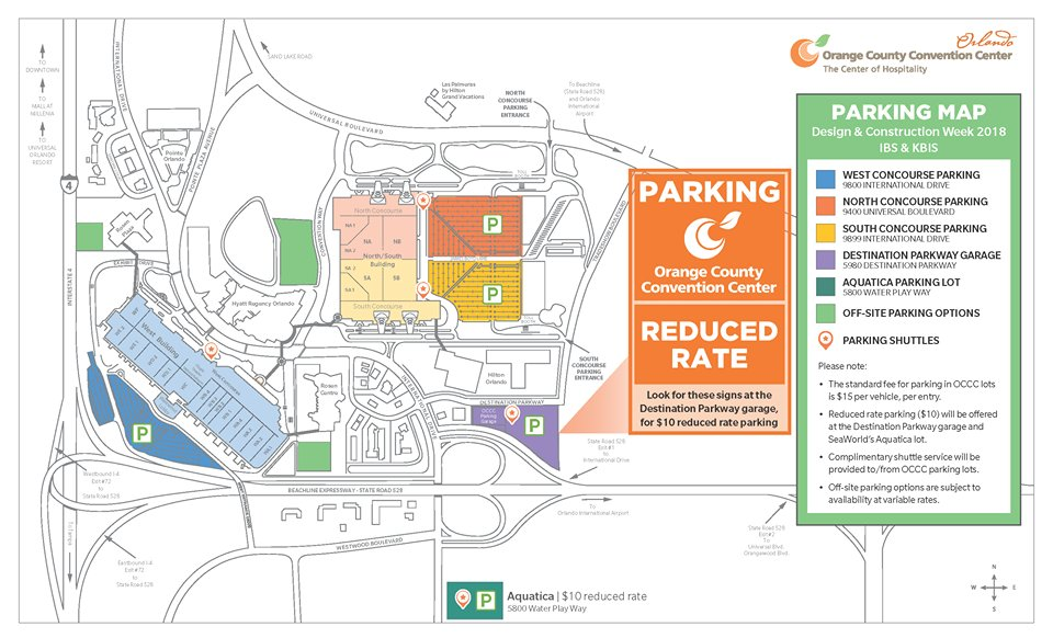 OC Convention Center OCCC Twitter - Orange county convention center map
