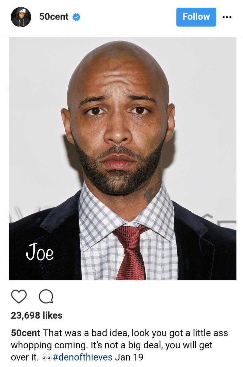 On Twitter 40 50 Cent Promises To Have Joe Budden Beat Up Over Eminem Allegedly Being Hurt Over Joes Revival Comments